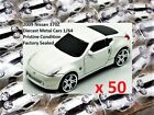 LOT of 50 NISSAN 370Z DIECAST METAL CAR s Add Your Company Logos SELLERS LOOK