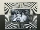 WATERFORD Crystal Clear Cut Photograph Picture Frame