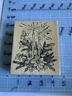 NORTHWOODS RUBBER STAMP 020 Used Free Shipping