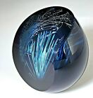 Caithness Glass Paperweight Blue Coral Colin Terris Design Ltd Ed 85 250