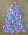 NWT Lilly Pulitzer Margot Dress In Whisper Blue Yeah Buoy Size Small Free Ship