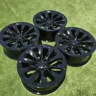 19 TESLA MODEL S RIMS OEM FACTORY WHEELS GLOSS BLACK P100D 75D