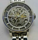 Fossil ME3067 Women's Silver Tone Analog Watch Size 6 1/2