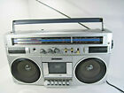 Sanyo M9830K Portable Stereo Radio Cassette Recorder Boombox Made in Japan
