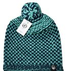 Youth Neff Navy/Teal Johnny Beanie Winter Knit Hat New