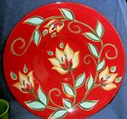Souther Living at Home RED BOUNTIFUL Serving Bowl Gail Pittman 15