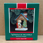 Hallmark GERMANY Windows of the World Ornament 1989