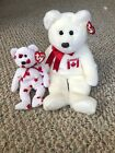 Ty Beanie Babies: Canada Exclusives Chinook And Maple The Buddy Bear MWMT