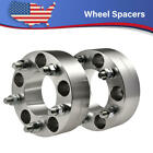 2PCS For Jeep Wrangler Grand Cherokee JK 5x5 2Hubcentric Wheel Spacers 1 2