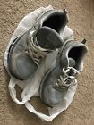 Mens GRAY SKECHERS RELAXED FIT Sport Athletic Shoes Size 85