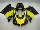 Yellow Black ABS Injection Bodywork Fairing Kits For Ducati 748/916/996 96-02 01