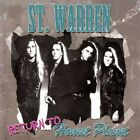 St. Warren - Return To Honest Planet NEW CD Hard Rock Hair Metal