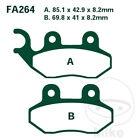 EBC SFA Scooter Front Brake Pads SFA264 PGO PMX 50 Sport 2002-2006
