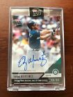 2019 Topps Now Edgar Martinez Seattle Mariners Auto 66 99 HOF Autograph