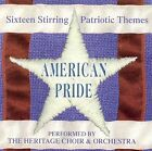 American Pride ~ Sixteen Stirring Patriotic Themes CD DISC ONLY... #E229