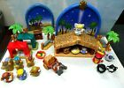 Used Fisher Price 2008 Little People Nativity Set + 3 Wise Men Sets Missing Some