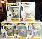 Funko Pop Mad Max Set - Furiosa - Immortan Joe Chase - Nux - Coma-Doof Warrior