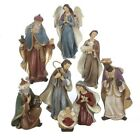 Kurt Adler 625 Resin 8 Pc Nativity Set