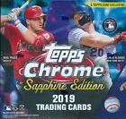 2019 Topps Chrome Sapphire Edition Factory Sealed Box Online Exclusive