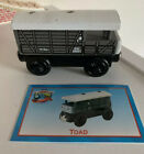 Thomas & Friends Wooden Railway Train Engine - 2000 BA Toad Brakevan WITH CARD!