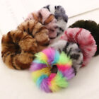 Fur Hair Rope Scrunchies Women Girl Elastic Hair Rubber Band Gum Ponytail Holder