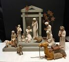 Willow Tree Nativity Set Excellent used condition with boxes