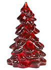 MOSSER GLASS CHRISTMAS TREE RUBY RED 55 INCH