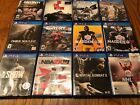 PS4 Video Game Lot of 12 Games All Great Titles Great Condition PlayStation 4