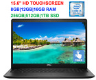 2020 Dell 156 TouchScreen Laptop i5 8265U i7 7500Uup to 16GB RAM  1TB SSD
