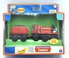 Boxed Thomas Train & Friends Wooden Lights and Sounds James 2006 LC99041