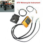 ATV Motorcycle Four Wheel Drive Speedometer Odometer w/ Induction Line For 200CC