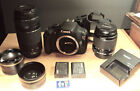 Canon EOS Rebel T5 DSLR Camera With 18 55mm and 18 300mm Lens plus more
