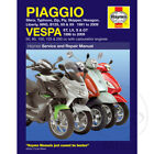 Piaggio Liberty 50 2T 2002 Haynes Service Repair Manual 3492