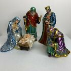 Hawthorne Village Lot of 4 The Jeweled Nativity Collection Faberge Swarovski