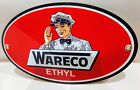 Wareco gas oil gasoline garage sign ... Shell Amoco Clark Pennzoil