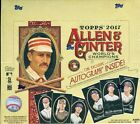 2017 Topps Allen & Ginter X Factory Sealed Box Online Exclusive