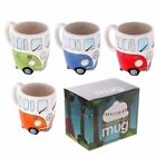Volkswagen Ceramic Shaped Coffee Mug Cup VW Camper Van By Giftbrit