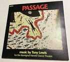 TONY LEWIS Passage CD 1990 ABORIGINAL ISLANDER DANCE THEATRE oz riley lee