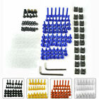 Complete Fairing Bolt Screws Kit For Kawasaki Ninja ZX6R ZX7R 9R ZX12R ZX14 ZZR