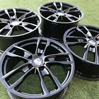 19 PORSCHE 981 WHEELS CAYMAN BOXSTER BLACK RIMS OEM WHEELS SPORT FACTORY INCH