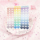 Cute Gradient Love Heart Stickers Scrapbooking Decor DIY Diary Album Stick Label