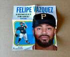 2019 TOPPS HERITAGE HIGH NUMBER FELIPE VAZQUEZ PIRATES POSTER BOX TOPPER SP #50