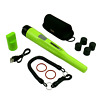 Quest Diver Green Waterproof Pinpointer Metal Detector with Li-ion Battery