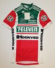 7 ELEVEN CYCLING TEAM ISSUED EURO JERSEY SIZE XL NWT