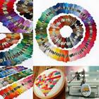 Lot 250 Multi Colors Cross Stitch Cotton Embroidery Thread Floss Sewing Skeins