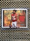2017 Playoff Patrick Mahomes Rookie Stallions Player Worn Patch! 117 149