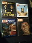 MUHAMMAD ALI BOOKS, MAGAZINES, & VHS TAPES;