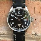 JUNKERS Watch Cockpit JU52 6144-2 + 1 Leather Strap +20%OFF Retail