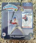 Ivan Rodriguez Starting Lineup 2,  Action Figure & Card Texas Rangers 2001