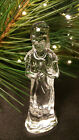 Waterford Crystal The Nativity Collection Shepherd Boy with Horn MINT